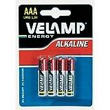 Velamp LR03/4BP Alkaline batterij mini stylus lr03 aaa, 1,5v - blisterverpakking met 4 batterijen