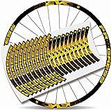 "Kit Pegatinas Bicicleta Stickers LLANTA Rim Progress EVO 29"" MTB BTT B"