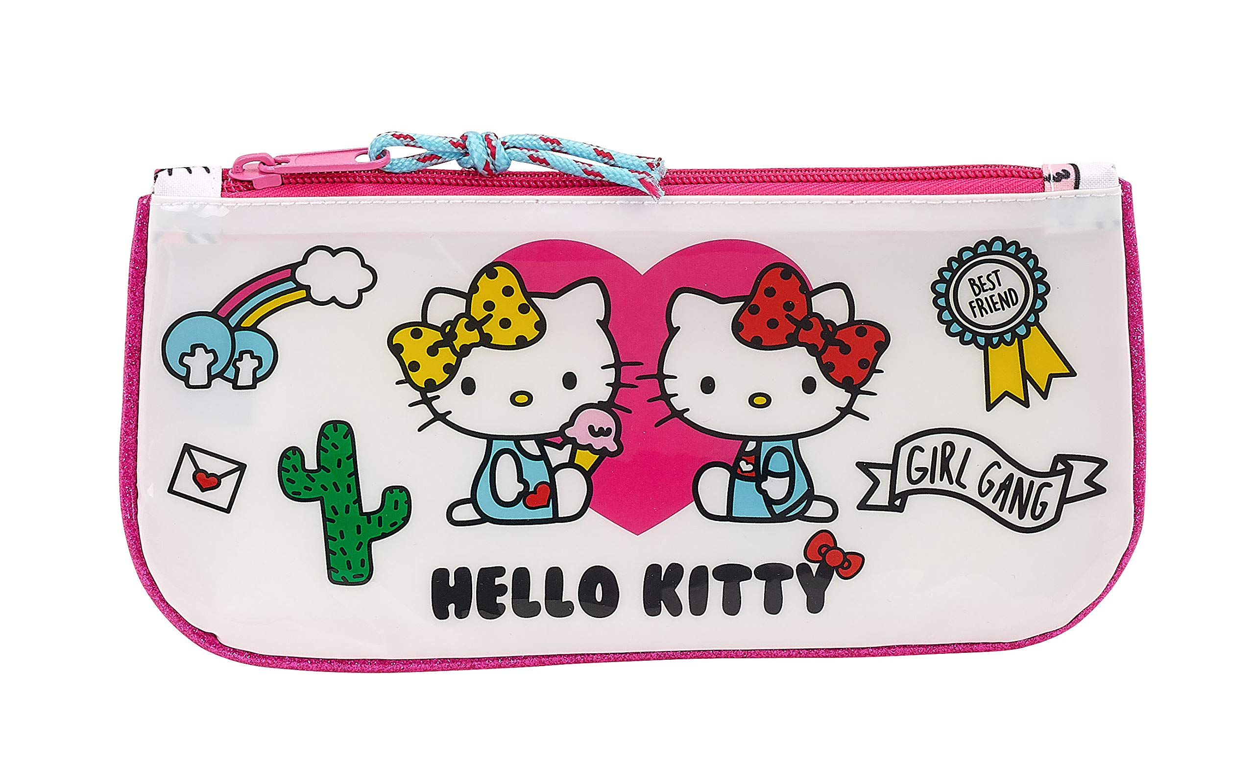 Hello Kitty 811816028 2018 Estuches, 23 cm, Rosa