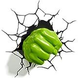 Marvel Hulk Fist 3d Wall Light