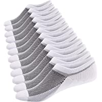 Ueither Calzini Fantasmini da Uomo, Sneaker Calze Invisibili in Cotone, Calze Corti Traspirante Sportive con taglio…