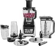 Ninja Food Processor [BL682UK2] Auto-iQ, 1500 W, Black and Silver
