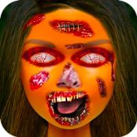 Fake Makeup Horror Face