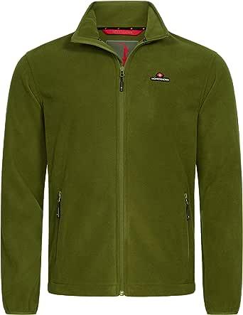 Höhenhorn Badus Men's Fleece Jacket with Full Zip for Outdoors / Hiking / Trekking