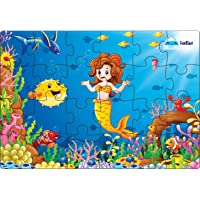 FunBlast Little Mermaid Jigsaw Puzzle for 4+ Year Old Kids, Jigsaw Puzzle for Kids 24 Pcs (Multicolor)