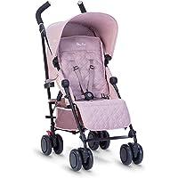 Silver Cross Pop Stroller, Compact and Lightweight Pushchair – Blush