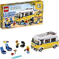 LEGO Creator 3in1 Sunshine Surfer Van Building Blocks for Kids 8 to 12 Years (379 Pcs) 31079