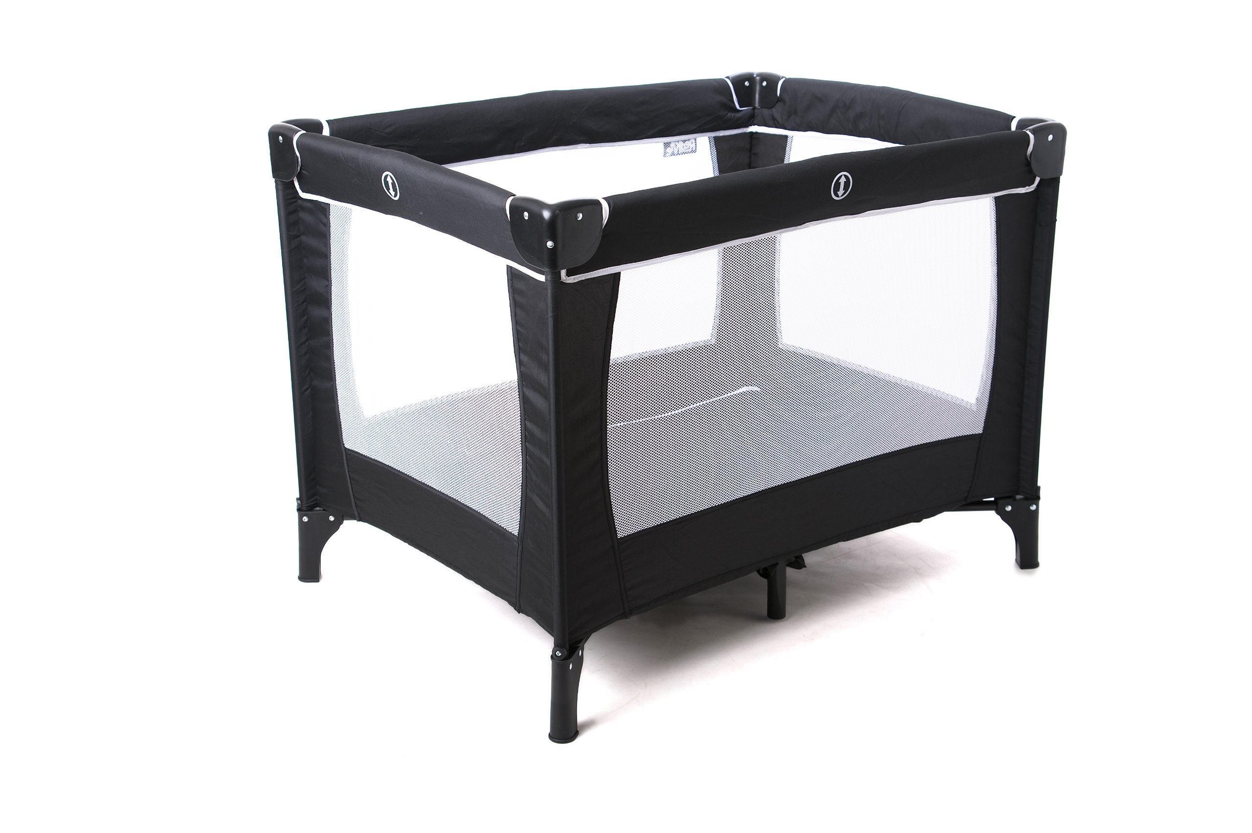 red kite sleeptight travel cot padded rails safety tested. Black Bedroom Furniture Sets. Home Design Ideas