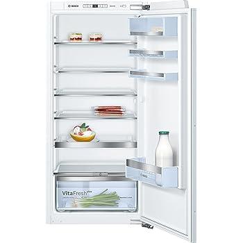 Bosch KIR41AF30 Serie 6 Einbau-Kühlschrank / A++ / Kühlen: 214 L / Weiß / Smartcool / Touchcontrol-Elektronik/ Fest montiert / Flachscharnier