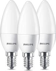 Philips LED Lampe Ersetzt 40W, E14, Warmweiß (2700 Kelvin), 470 Lumen