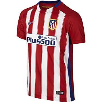 Boys 2015/16 Atl??tico de Madrid Stadium Home Varsity Red/Football White/Drenched Blue/Drenched Blue