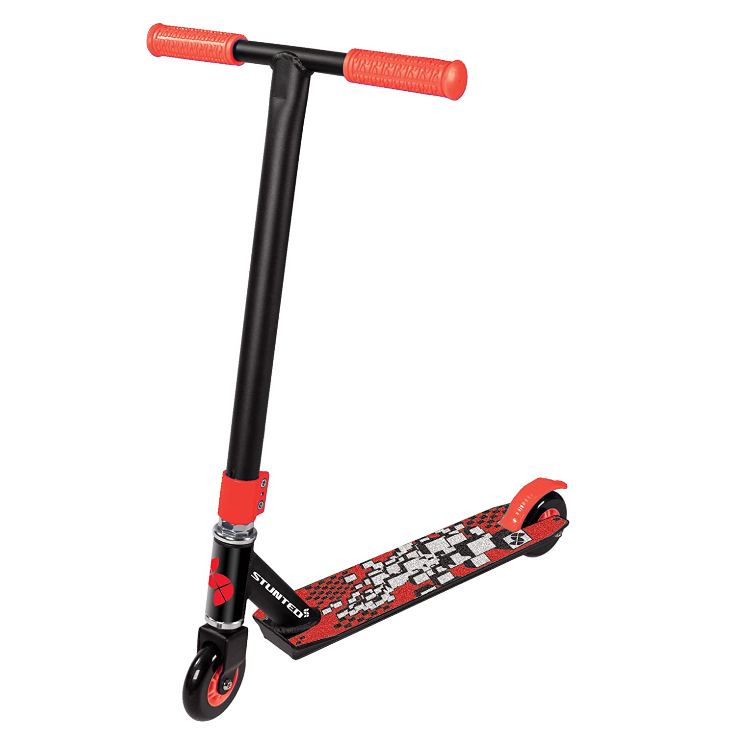 stunt roller scooter f r erwachsene kinder fester lenker. Black Bedroom Furniture Sets. Home Design Ideas