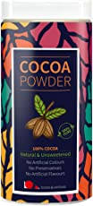 Looms & Weaves 100 % Pure & Natural Cocoa Powder From Kerala Unsweetened- 400 Gm