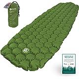 EcoTek Outdoors Matelas Gonflable Ultra-léger de Sommeil pour la randonnée et Le Camping