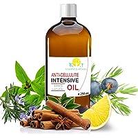 Olio Intensivo Anti cellulite Dimagrante 100% Naturale con Oli essenziali di limone, rosmarino, cannella, basilico e…