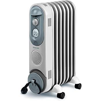 Sencor 41000449 Radiateur électrique à bain d'huile