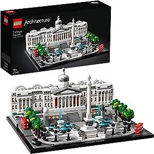 LEGO Architecture TrafalgarSquare con Galleria Nazionale, Modello di Monumento da Collezione, Idea Regalo, 21045