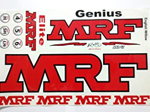LemonQ MRF-ABD-17 Cricket Bat Sticker with Advanced Quality | Self Adhesive