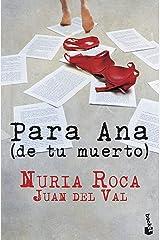 Para Ana (de tu muerto) (Bestseller) Tapa blanda