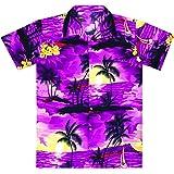 Virgin Crafts Men's Hawaiian Shirt Beach