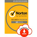 Norton Security Premium 2019 10 Devices 1 Year Antivirus Included PC Mac iOS Android Download