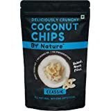 By Nature Baked Classic Coconut Chips, 160 Gm [All Natural, Not Fried. No Preservatives] (Pack of 4X40G)