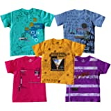 YelloWear Boys Printed T-Shirts