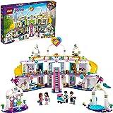 LEGO Friends Il Centro Commerciale di Heartlake City, Playset con 5 Negozi, 4 Mini-doll, una Micro-doll e un Bebè, 41450