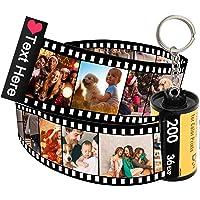 Luincas portachiavi personalizzati con foto,personalizzato famiglia rullino portachiavi spotify con foto,portachiavi…