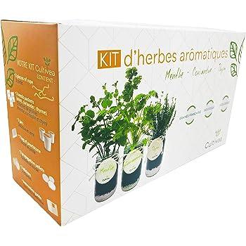 Nouveaute Cultivea Kit Pret A Pousser Complet D Herbes