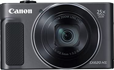 Canon Powershot Sx620 Hs 20.2 Mp Digital Compact Camera (3 Inch Display, 25 X Optical Zoom, Wi-Fi, Nfc, Full Hd Video) - Black