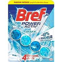 Bref WC Power Activ' Océan – 1 Bloc WC (50g) – Produit Nettoyant WC – Détartrant toilettes