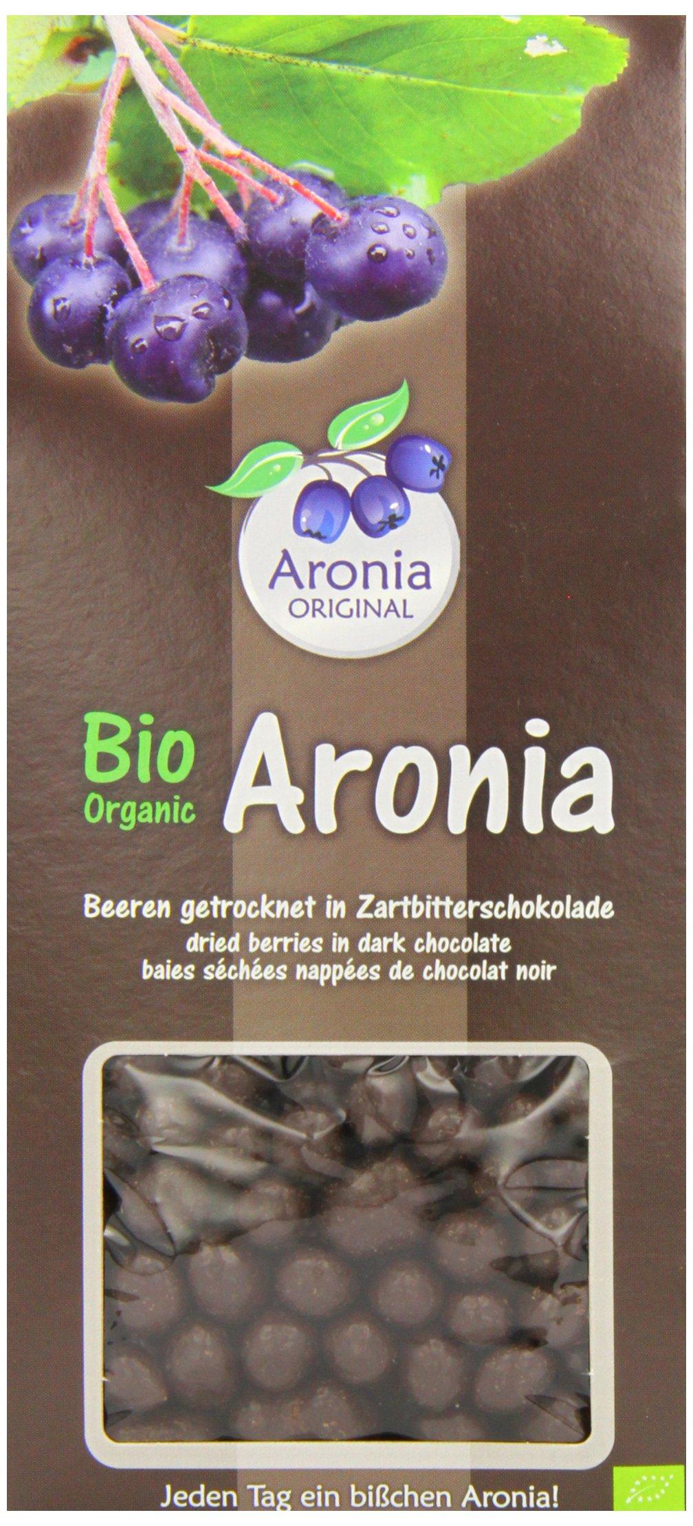 Aronia Original Bio Cioccolato aroniabeeren (schokoliert), 1er Pack (1x 200g)