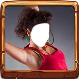 Mädchen Tänzerin Fotomontage