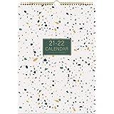 Eono by Amazon - 2021 Mura Kalendaro, Monata Por-Vida Mona Planilo, 12 Monata Kalendaro por 2021, 16,6 coloj x 11,7 coloj, Mo