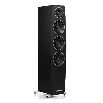 concert speakers system. jamo c 97 concert 9 floorstander single black: amazon.co.uk: hi-fi \u0026 speakers system