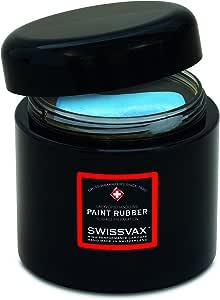 Swissvax SwizÖl Paint Rubber Blau Weichere Ausführung Ca 100g Auto