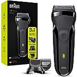 Braun Series 3 Shave&Style 300BT, Afeitadora Eléctrica 3 en 1, Máquina de Afeitar Para Hombre Con Recortadora De Precisión Pa