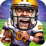American Football Match - Rugby Touchdown Plays