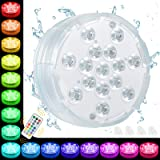 Oralys Bath Hot Tub Lights - Waterproof Pond Lights,Underwater Pool Lights with 15 LED Beads,16 Colors,Submersible LED…
