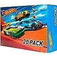 Hot Wheels - Pack De 20 Vehículos con Embalaje de Cartón, Coches de Juguete (Modelos Surtidos) (Mattel DXY59)
