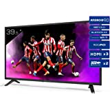 Televisiones Smart TV 39,5 Pulgadas Full HD Android 9.0 y HBBTV, 1100 PCI Hz, 3X HDMI, 2X USB. DVB-T2/C/S2, Modo Hotel - Tele