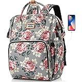 SUEBEKUE Rucksack Damen,Schulrucksack Mädchen Teenager Tagesrucksack Frauen Daypack mit 15.6 Zoll Laptopfach und RFID Schutz