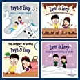 Zayn & Zoey Farm to Table Series (Set of 4 books - Dairy, Sugarcane, Chocolate, Paper)