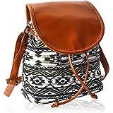 KLEIO Women's Sling Bag (BnB316LY-BWB_Black)