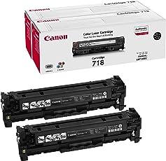 Canon 2662B002 718 LBP-7200CDN Cartuccia laser, Pacco da 2