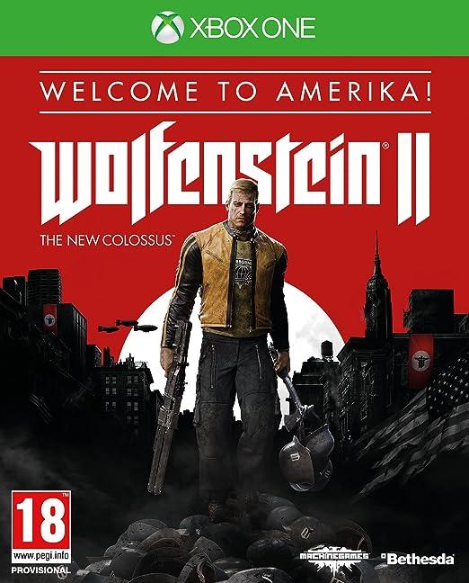 """Résultat de recherche d'images pour """"wolfenstein 2 cover xbox"""""""