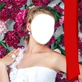 Brautkleid-Foto-Montage
