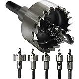 S&R-gatzaagset 16-18,5-20 - 25-30mm HSS COBALT, kobalt gelegeerd (5% kobaltstaal), M35, HRC64-66, staal, roestvrij staal