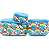 JuJuBe x Hello Kitty | Be Organized | Compact Packing Cubes for Use with Totes, Diaper Bags + Backpack | Travel Sized Pouches